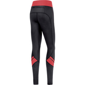 GORE WEAR R3 Mid Tights Women, black/hibiscus pink